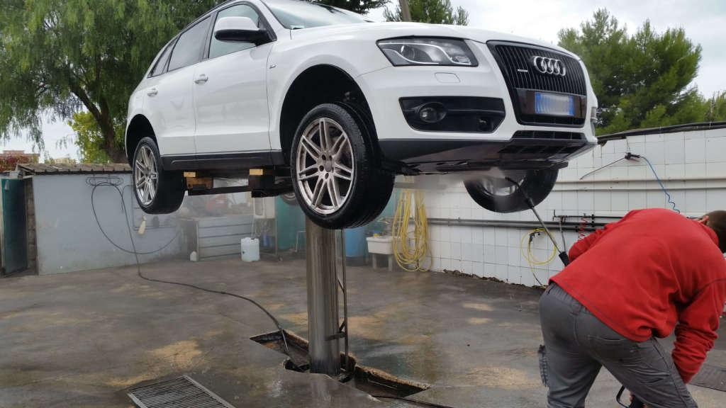 Grafitaggio Audi Q5