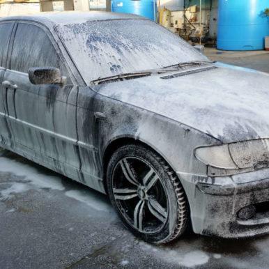 Lavaggio foam Bmw 320