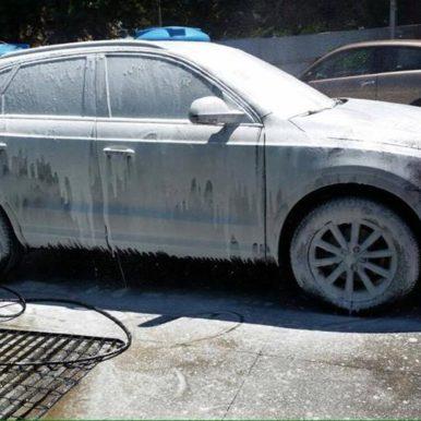 Lavaggio foam Audi q3