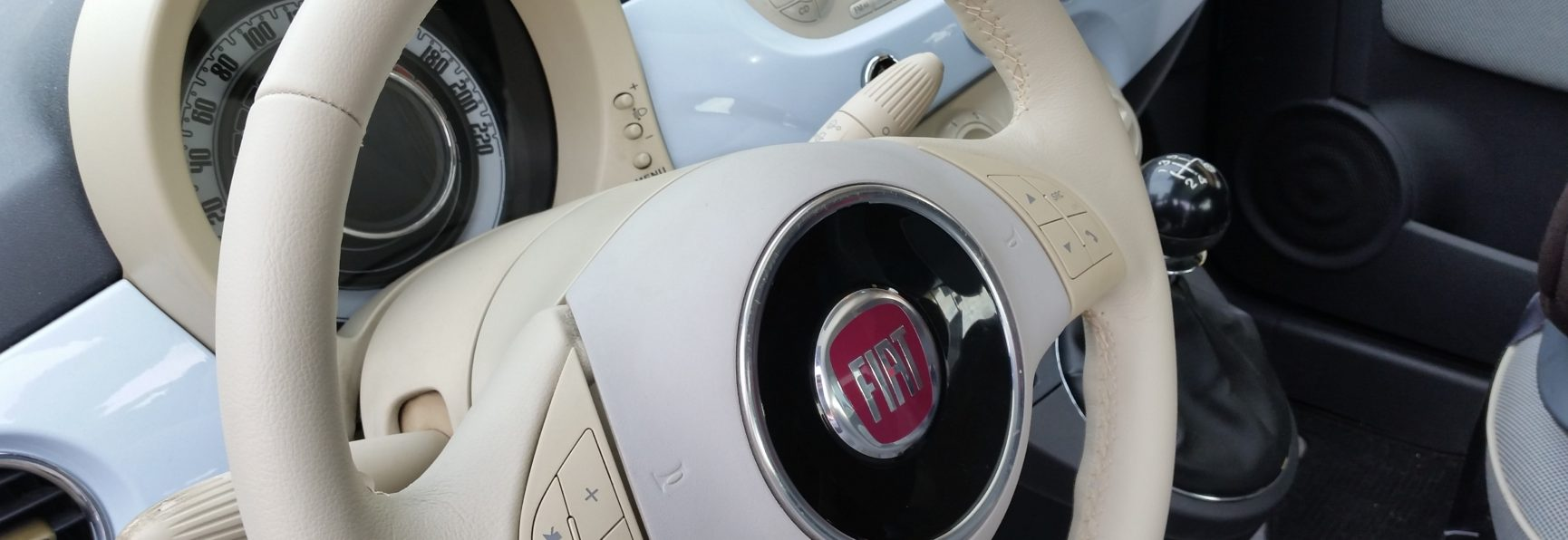 Rifacimento a nuovo volante Fiat 500