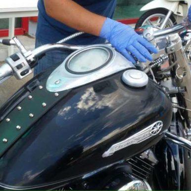 Lucidatura moto drugster 1100